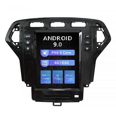 10.4 inch tesla style android car dvd player for Ford Mondeo 2007-2010