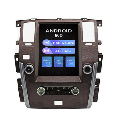 13.6 inch Nissan Patrol SE tesal style android car dvd player