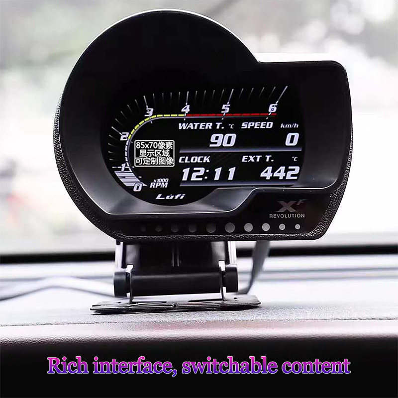 Magician OBD XF Scanner Car Diagnosis Auto Meter Gauge Universal obd 2 meter