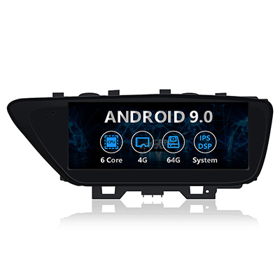 10.25 inch Android car gps navigatio Lexus ES 2014-2017 with gps navigation wifi
