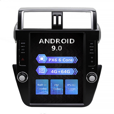 Hot Sale Android Car Radio Stereo GPS Navigation Player For Toyota Prado