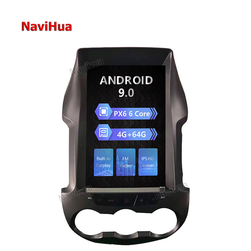 Car Audio Video System Pioneer Android GPS Navigation For Ford Ranger