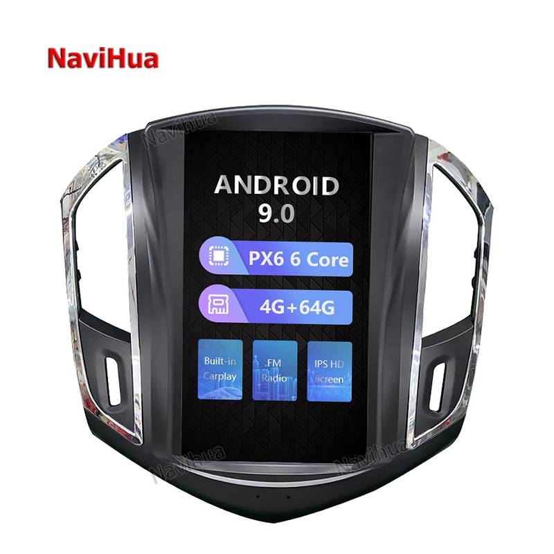 Factory Android Car Bluetooth Car Audio System Pioneer Video For Chevrolet Cruze